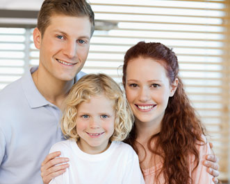 natural health doctor with family